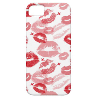 Ruby Red Kisses iPhone 5 Barely There Case
