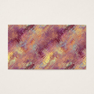 Ruby Red Liquid Pattern Business Card