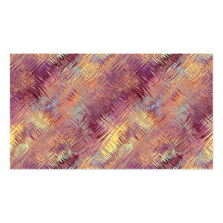 Ruby Red Liquid Pattern Business Cards