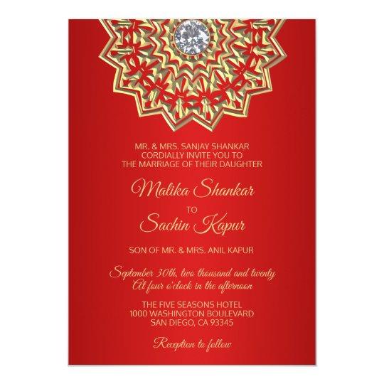 Champagne Gold Fleur De Lis Wedding I Invitations