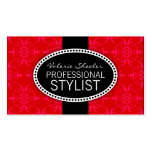Ruby Red Orlee Business Card