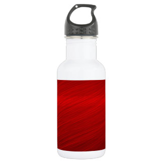 Ruby Red paper 18oz Water Bottle