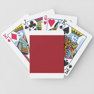 Ruby Red Bicycle Card Deck