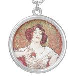 Ruby Red Rose Goddess Custom Jewelry