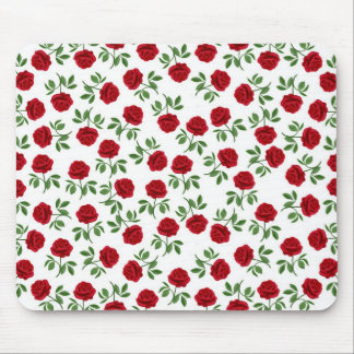 Ruby Red Roses Mousepad