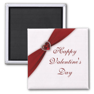 Ruby Red Valentine's Day Magnet