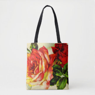 Ruby Roses All-Over-Print Tote Bag