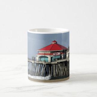 Ruby s Diner - Huntington Beach Pier Coffee Mug