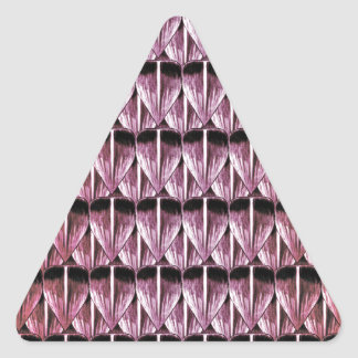 Ruby Scales Triangle Sticker