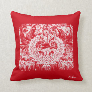 RUBY SHIVA GIFT PILLOW BY ARA ARTIST