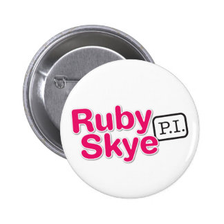 Ruby Skye P.I. Buttons (White)