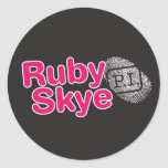 Ruby Skye P.I. Sticker