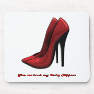 Ruby Slippers Mouse Pad