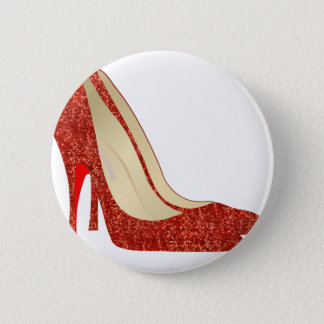 ruby slippers pinback button