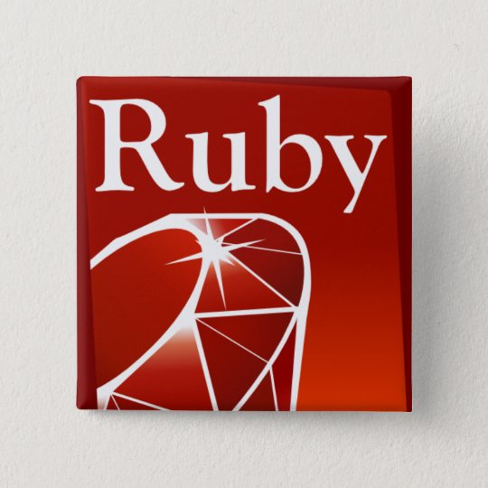 Ruby Square Button