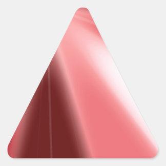 Ruby Starburst Triangle Sticker