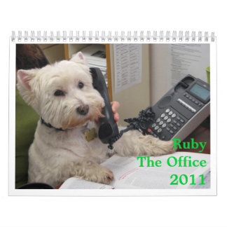 Ruby: The Office 2011 Wall Calendars