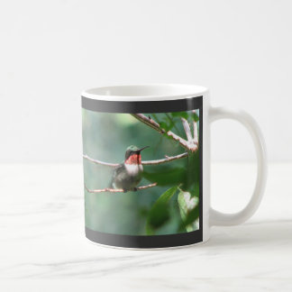 Ruby-throat Flutters Mug
