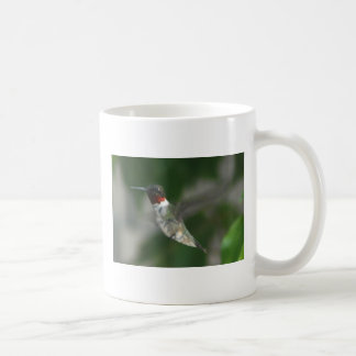 Ruby Throat Hummingbird Classic White Coffee Mug