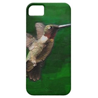 Ruby Throat Hummingbird iPhone SE/5/5s Case