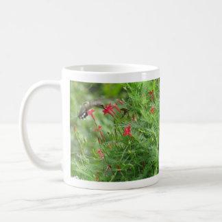 Ruby-throat in Cypress Vine Mug