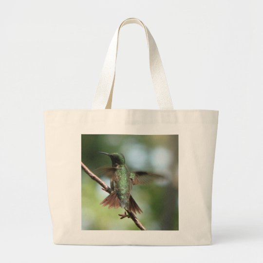 Ruby-throat Takes Wing Bag