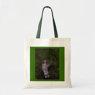 Ruby Throated Humming Bird Tote Bag
