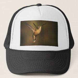 Ruby Throated Hummingbird - A Beauty Trucker Hat