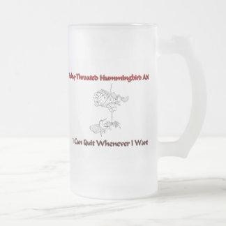 Ruby-Throated Hummingbird Addict Coffee Mugs
