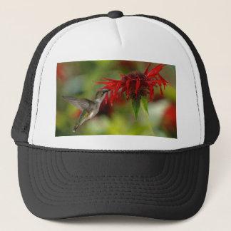 Ruby-Throated Hummingbird Archilochus Colubris Trucker Hat
