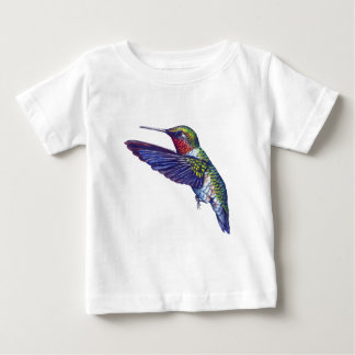 Ruby Throated Hummingbird Baby T-Shirt