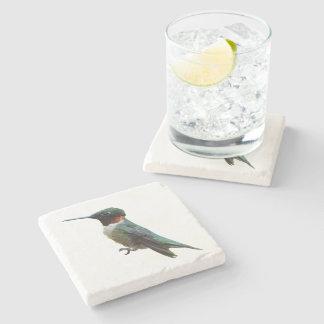 Ruby-Throated Hummingbird Bird Photography Stone Coaster