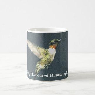 Ruby -Throated Hummingbird Coffee Mug