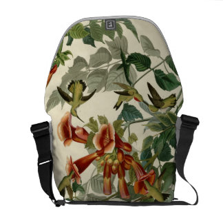 Ruby-throated Hummingbird Courier Bags