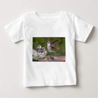 Ruby-throated Hummingbird (female) with young T Shirt