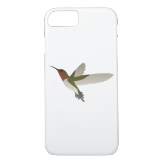 Ruby Throated Hummingbird iPhone 7 Case