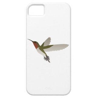 Ruby Throated Hummingbird iPhone SE/5/5s Case