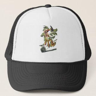 Ruby-throated Hummingbird, John Audubon Trucker Hat