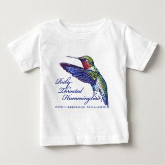 Ruby Throated Hummingbird Latin T Shirts