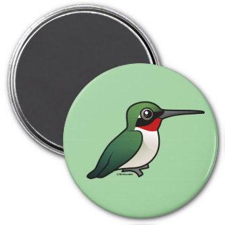 Ruby-throated Hummingbird Magnet