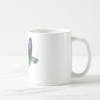 Ruby Throated Hummingbird Male Coffee Mug