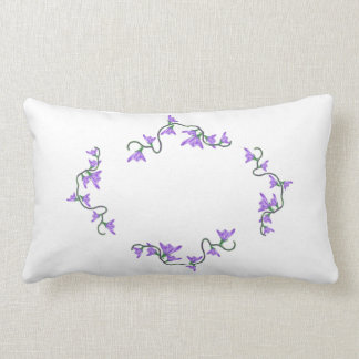 Ruby Throated Hummingbird Pillow