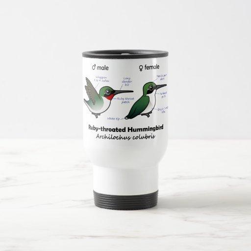 Ruby-throated Hummingbird Statistics Coffee Mug