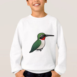 Ruby-throated Hummingbird Sweatshirt