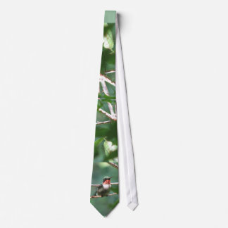 Ruby-throated Hummingbird Tie