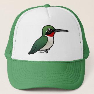 Ruby-throated Hummingbird Trucker Hat