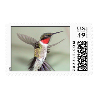 Ruby-Throated Hummingbirds 2003-0082a Postage