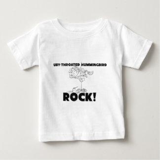 Ruby-Throated Hummingbirds Rock Shirt