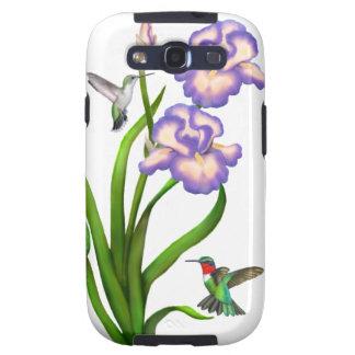 Ruby Throated Hummingbirds Samsung Galaxy S Case