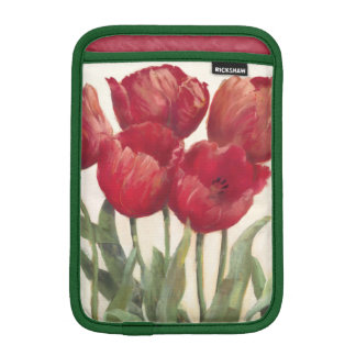 Ruby Tulips iPad Mini Sleeve